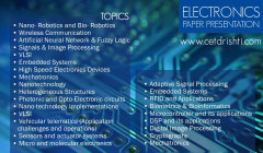 Electronic Engineering - Paper Prasentation Topics
