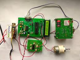 DC MOTOR SPEED AND DIRECTION CONTROL USING RF