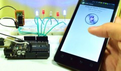 Android mobile controlled voice guider