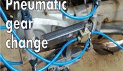 Automatic Gear Changer In Two Wheelers Pneumatic Model
