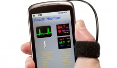 Smart phone based patient monitoring system