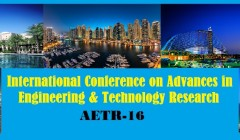 International Conference on Advances in Engineering and Technology Research