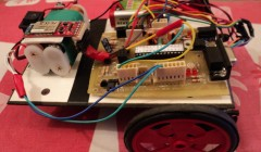 Bluetooth Robot with CMOS image sensor (SPY ROBOT)