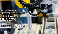 2016 International Conference on Mechatronics Engineering and Automation
