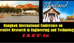 International Conference on Innovative Research in Engineering and Technology