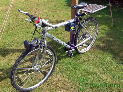 How to make solar powered electric bicycle for Little motors for bicycles