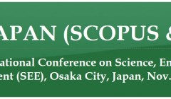 The Second International Conference on Science  Engineering  and Environment