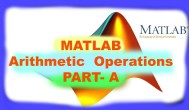 MATLAB Arithmetic Operations and Frequently Used Commands