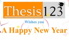 Thesis123 Wishes You Happy New Year 2016!!