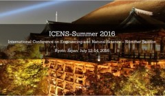 2016 International Conference on Engineering and Natural Science