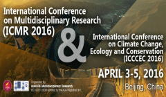 3rd International Conference on Multidisciplinary Research