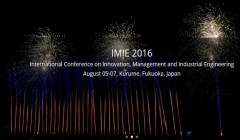 2016 International Conference on Innovation, Management and Industrial Engineering