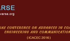 International Conference on Advances in Computer Science Engineering and Communications