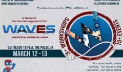 Waves 2016-The National Techno Management Symposium