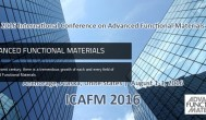 2016 International Conference on Advanced Functional Materials