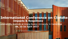 Ninth International Conference on Climate Change: Impacts & Responses