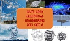 GATE 2016 EE - Set 2 - Complete Solutions