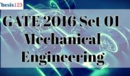 GATE 2016 ME - SET 1 - Complete Solutions