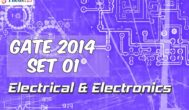 GATE 2014 EE - SET 1 - Complete Solutions